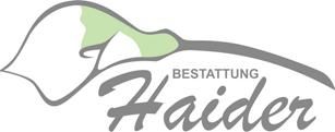 Bestattung Haider